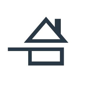 Un logo volontairement simpliste qui peut être facilement reproduit à la main par le restaurateur sur son ardoise