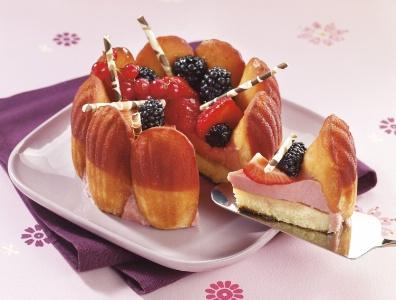 R aliser un dessert original avec les madeleines ker cad lac for Idee de dessert original