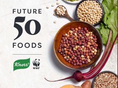 Knorr et WWF-UK listent les 50 aliments de demain.
