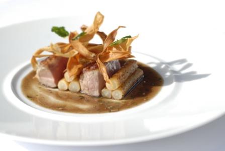 Recette de chef chef selle d 39 agneau aux salsifis - Cuisiner une selle d agneau ...