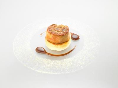 Michelin 2015 escalope de foie gras chaud sur galette de - Quantite foie gras par personne ...