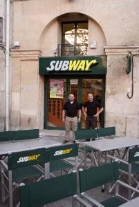 subway ouvre un nouveau restaurant montpellier. Black Bedroom Furniture Sets. Home Design Ideas