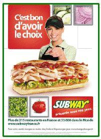 Journal Avec Pub Sur Les Fast Food