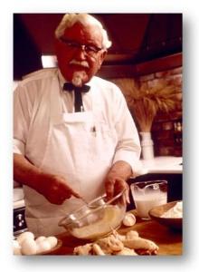 Découverte du livre de recettes du fondateur de KFC Colonel Harland Sanders dans À paraître colonel-20cook-202-1