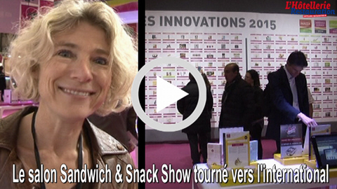 Tendances expertise et solutions business au salon for Salon sandwich and snack show