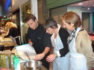 Philippe lechat le toqu des halles for Atelier de cuisine philippe lechat