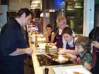 Une Soirée Cuisine Pour Enfants Malvoyants à Latelier Philippe Lechat