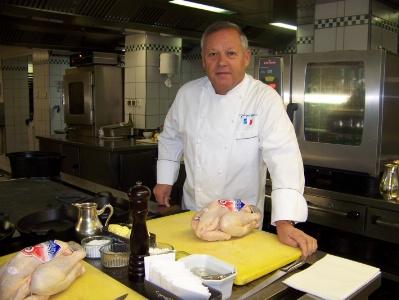 Georges blanc poursuit son d veloppement - Cours de cuisine georges blanc ...