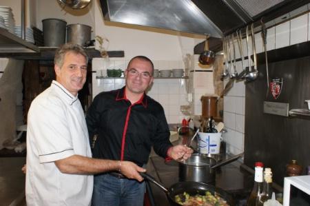 Auberge de l 39 abbaye le prof passe en cuisine for Formateur en cuisine