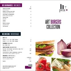 Faites de votre carte un atout art 39 burgers collection - Jazz meridien porte maillot programme ...
