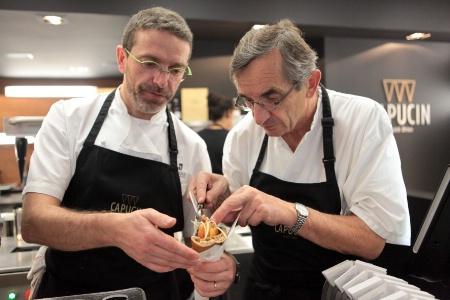 Le capucin de la famille bras for Cuisinier bras