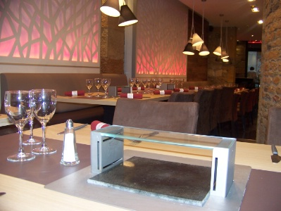 Restaurant Cuisson Sur Pierre Lyon