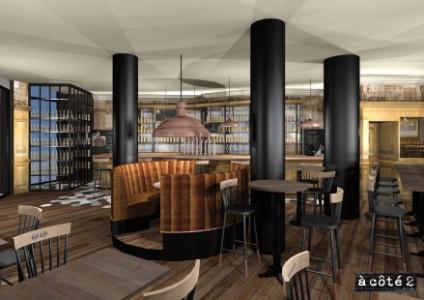 franchise focus sur au bureau et le nouveau concept caf leffe du groupe bertrand restauration. Black Bedroom Furniture Sets. Home Design Ideas