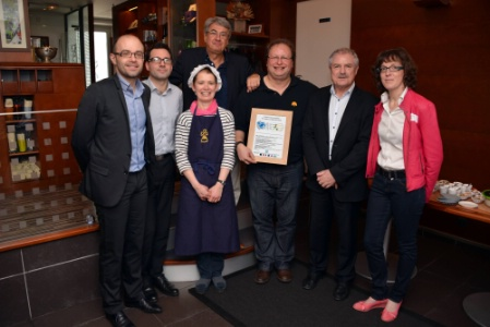 Le jardin gourmand premier restaurant obtenir une for Jardin gourmand lorient