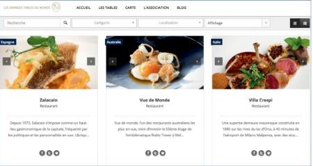 Un nouveau site internet pour les grandes tables du monde - Les grandes tables du monde ...