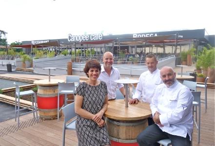 Canop e caf un restaurant sur les toits de bordeaux - Merignac soleil magasins ...