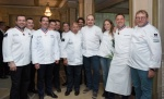 Laurent Lemal soutenu par la Team France Bocuse d'Or