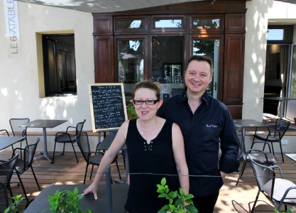Pascal poulain ouvre le 6 table caromb for Restaurant caromb