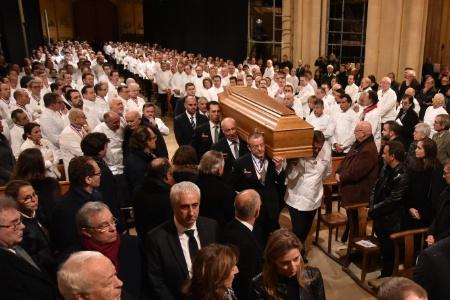 Les obsèques de Paul Bocuse en la Cathédrale Saint-Jean.
