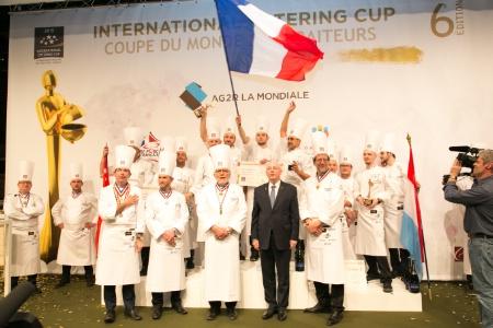 La France au sommet.