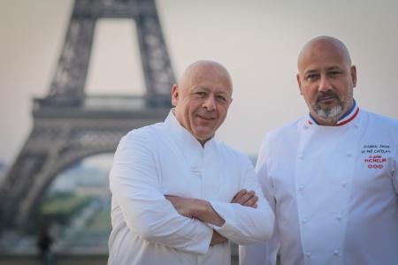 Les chefs étoilés Thierry Marx et Frédéric Anton vont privilégier les produits de saison franciliens.