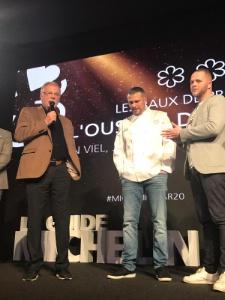 Glenn Viel et Jean-André Charial, 3 étoiles Michelin à Baumanière.