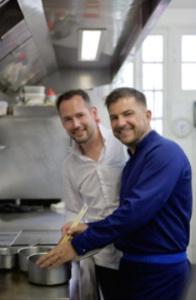 David Galienne et Eric Guérin.