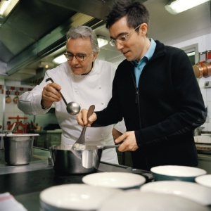 Alain Ducasse et Patrick Jouin