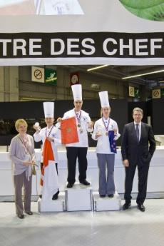 Le chef cuisinier marocain abdellah achiai grand vainqueur - Salon de la restauration collective ...