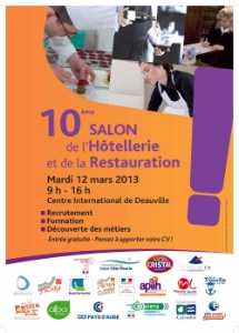 10e salon des m tiers de l 39 h tellerie et de la for Salon hotellerie restauration