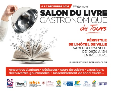 1er Salon Du Livre Gastronomique De Tours