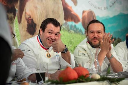 Guillaume Gomez, MOF et chef des cuisines de la présidence de la République, est un habitué de l