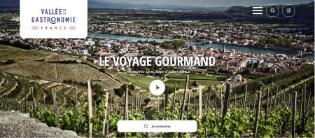 Le site internet recense toute l'offre touristique liée à la gastronomie présente dans la vallée.
