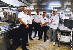 Int grez les cuisines du charles de gaulle - Porte avions charles de gaulle journal de bord ...