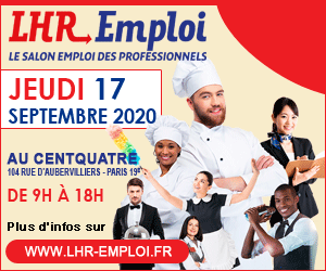 Salon LHR Emploi - Edition du jeudi 17 septembre 2020 à Paris au CentQuatre